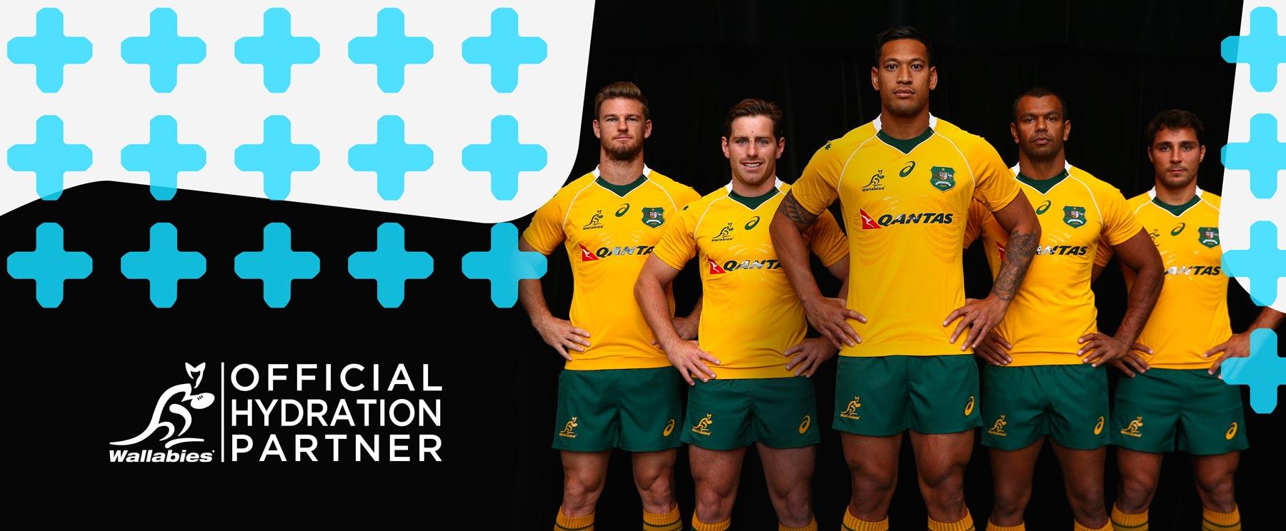 ReHydration Partner of Australian Rugby Wallabies