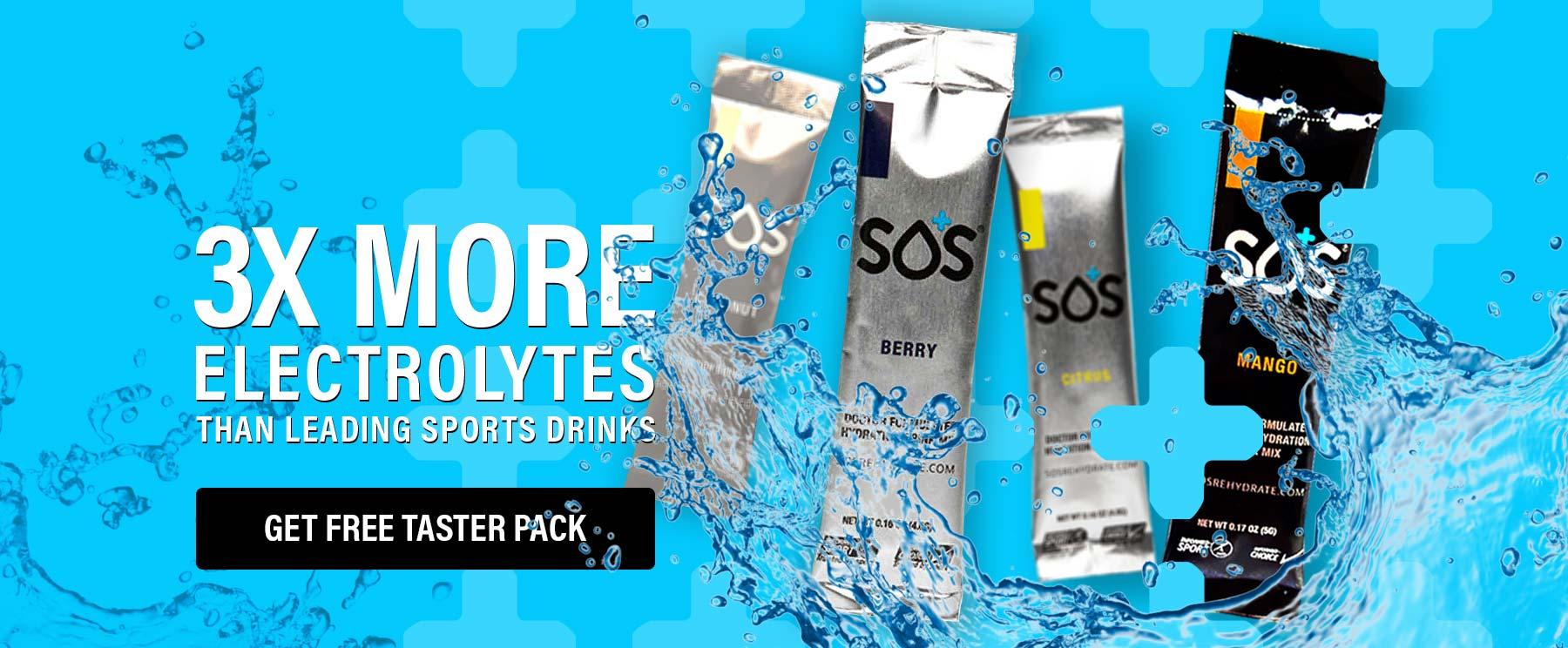 Replenish Electrolyte Sports Drink SOS Hydration Australia